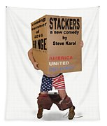 Stackers Poster Tapestry