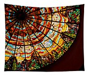 Stained Glass Ceiling Tapestry