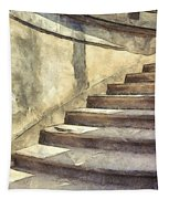 Staircase At Pitti Palace Florence Pencil Tapestry