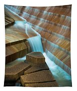 Staircase Fountain Tapestry