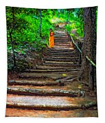 Stairway To Heaven Impasto Tapestry