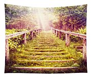 Stairway To The Garden Tapestry