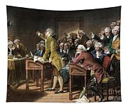 Stamp Act: Patrick Henry Tapestry