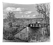 Stand By Me - Paint Bw Tapestry