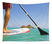 Stand Up Paddling Tapestry