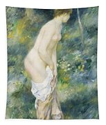 Standing Bather Tapestry by Pierre Auguste Renoir