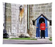 Standing Guard Tapestry