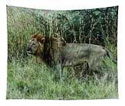 Standing Lion Tapestry