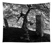 Standing Stones Near The Tree Tapestry