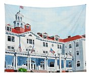 Stanley Hotel Two Tapestry