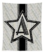 Star Of The Show Art Deco Monogram Tapestry