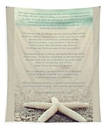 Starfish Make A Difference Vintage Set 1 Tapestry