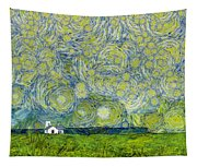 Starry Ballintoy Church Tapestry