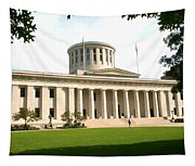 State Capitol Of Ohio Tapestry