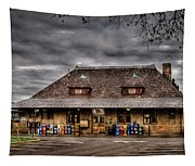 Station - Westfield Nj - The Train Station Tapestry
