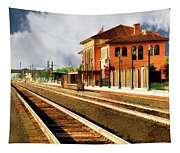 Station In Waiting Tapestry