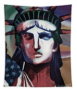 Statue Of Liberty Hb5t Tapestry