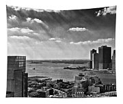 Statue Of Liberty View Tapestry