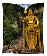 Statue Of Murugan Tapestry