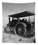 Steam Tractor Tapestry