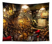 Steampunk - Naval - The Torpedo Room Tapestry