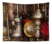 Steampunk - Needs Oil Tapestry