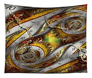 Steampunk - Spiral - Space Time Continuum Tapestry