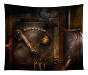 Steampunk - The Control Room  Tapestry