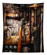Steampunk - Plumbing - Pipes Tapestry
