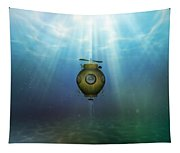 Steampunk Submarine Tapestry