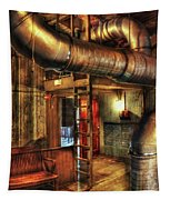Steampunk - Where The Pipes Go Tapestry