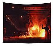 Steel Mill--china Tapestry