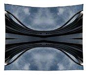 Steel Waves Tapestry