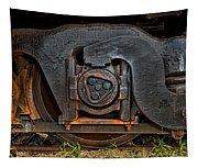 Steel Wheel Of Progess Tapestry