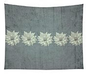 Steely Gray Bluer Version Tapestry