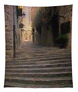 Steep Steps Of Girona Tapestry