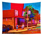 Steinbergs Supermarket Tapestry