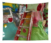 Stepladder To Heaven Tapestry