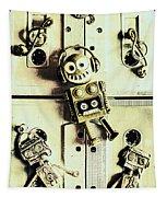 Stereo Robotics Art Tapestry