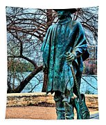 Stevie Ray Vaughan Vibrant Colors Tapestry