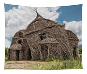 Lean On Me - Stick House Series #3 Tapestry