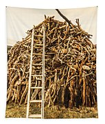 Sticks And Ladders Tapestry
