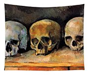Still Life, Three Skulls Tapestry
