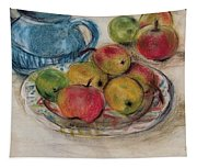 Still Life With Blue Teapot 2 Tapestry