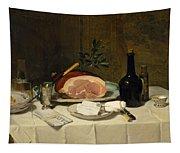 Still Life With Ham Tapestry