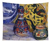 Still Life With Oriental Figures, 1913  Tapestry