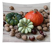 Still Life With Products Of Autumn Tapestry