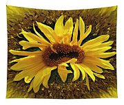 Still Life With Sunflower Tapestry