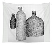 Still Life With Three Bottles Tapestry