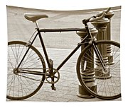Still Life With Trek Bike In Sepia Tapestry